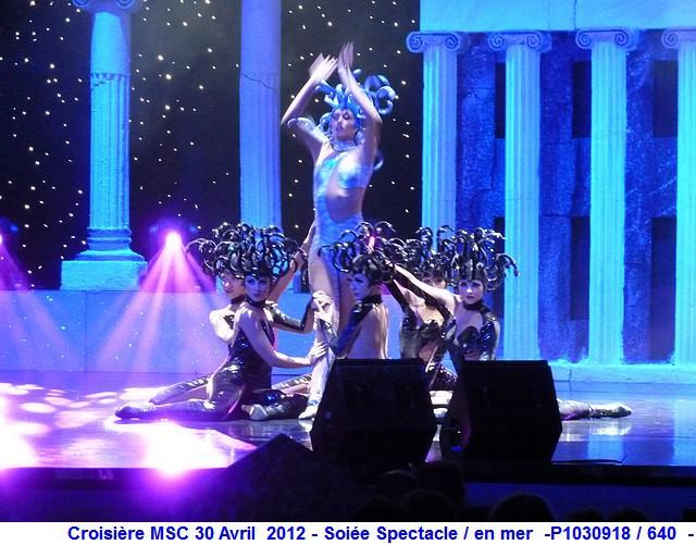 MSC Splendida Du 28 avril au 5 mai 2012 Gêne Barcelone Tunis La valette Taormine Messine Rome 318675P1030918