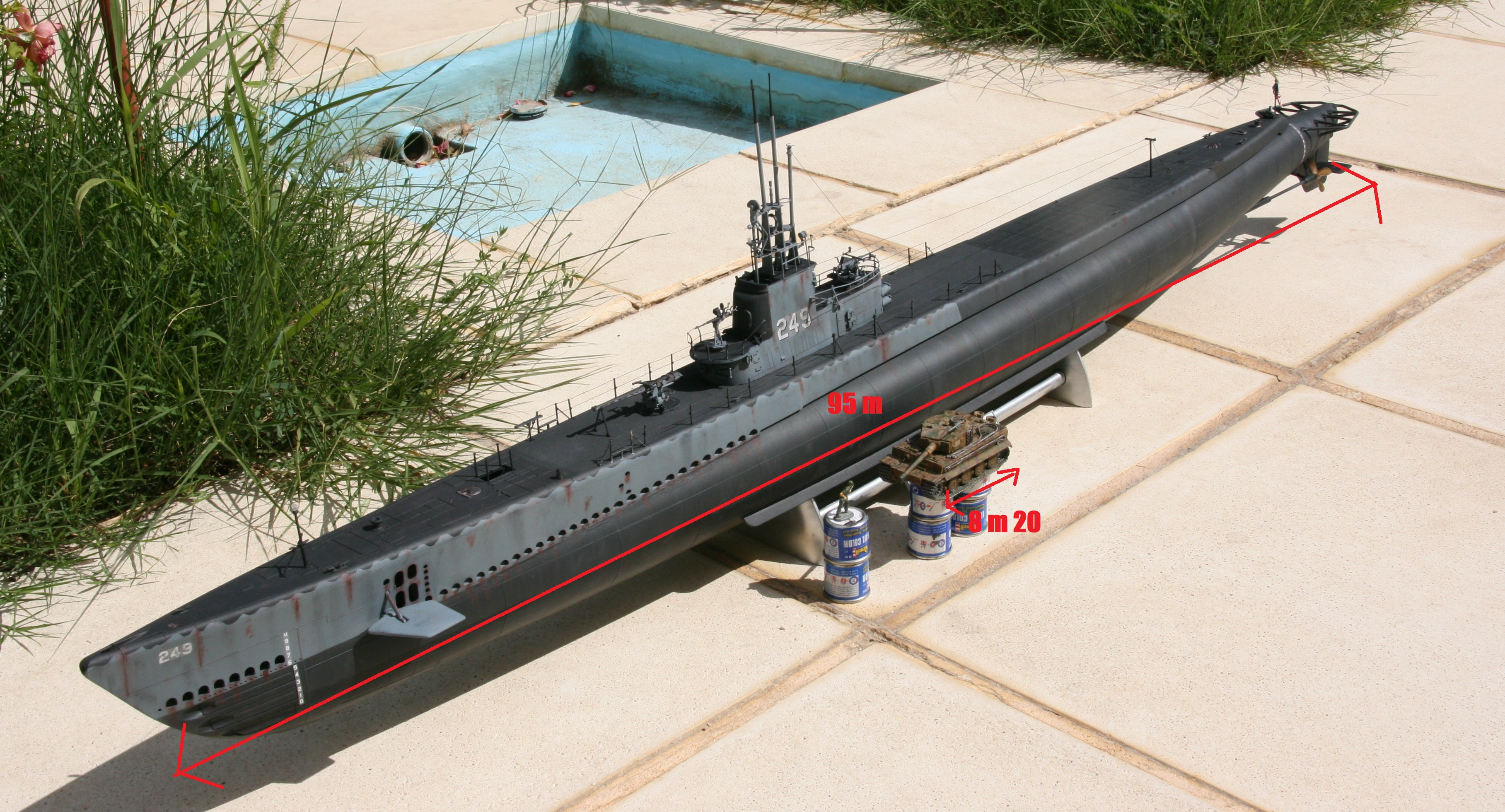 USS FLASHER, Classe Gato, 1/72° 318841IMG7831