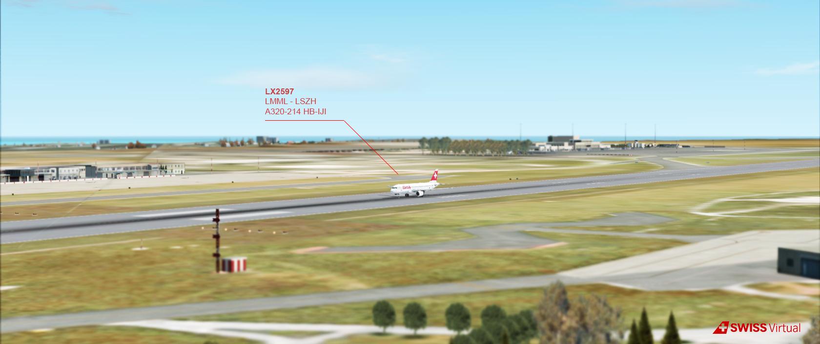 [IVAO] A320 SWISS - LMML 318929A320Malta