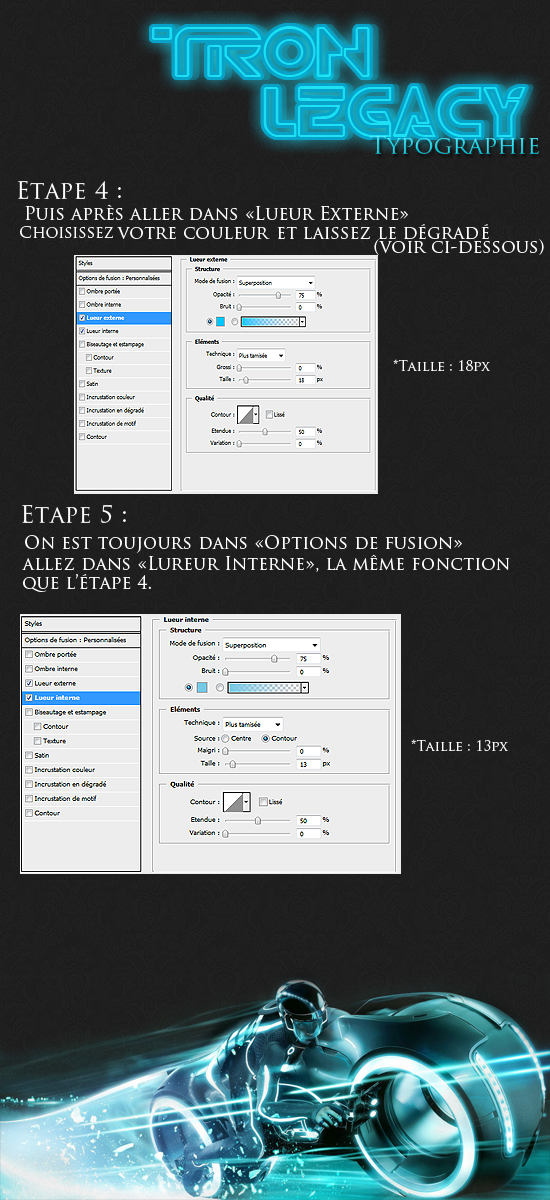 Typographie Tron Legacy  319212Part2
