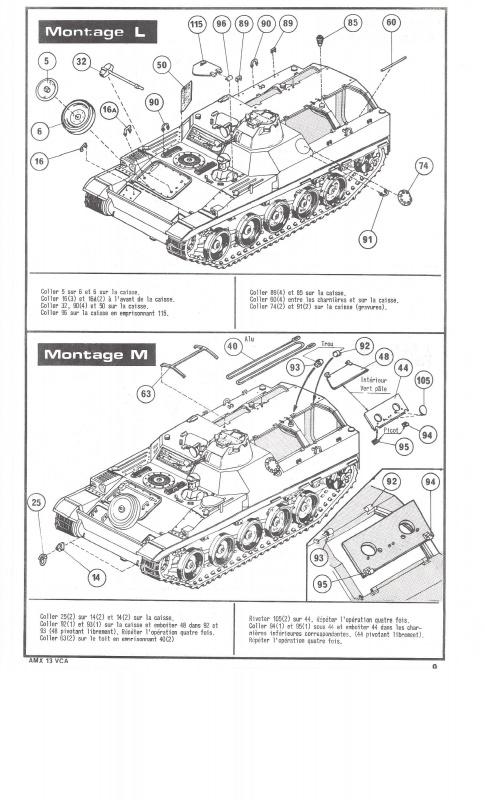 AMX 13 VCA - (Réf. L786) 1/35  320237VCA009