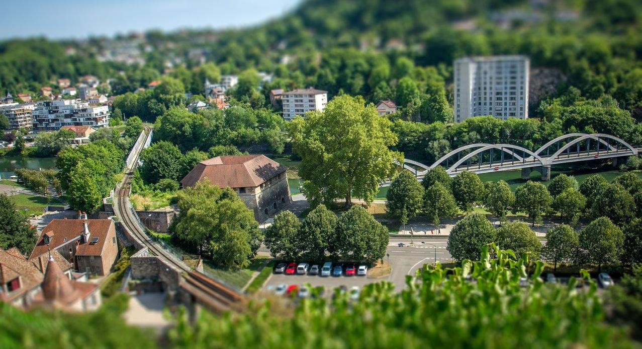 Architecture / Rues / Ambiance de ville / Paysages urbains 320329IMGP5989tiltshift