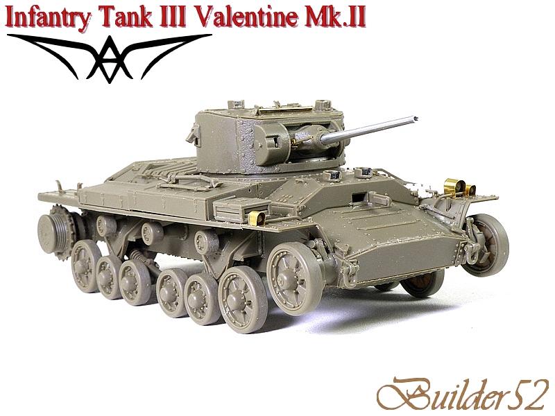 Infantry Tank III Valentine Mk.II - AFV CLUB 1/35 320624P1050405