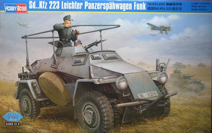 sd kfz 223 Hobbyboss 1/35 322786modles112003
