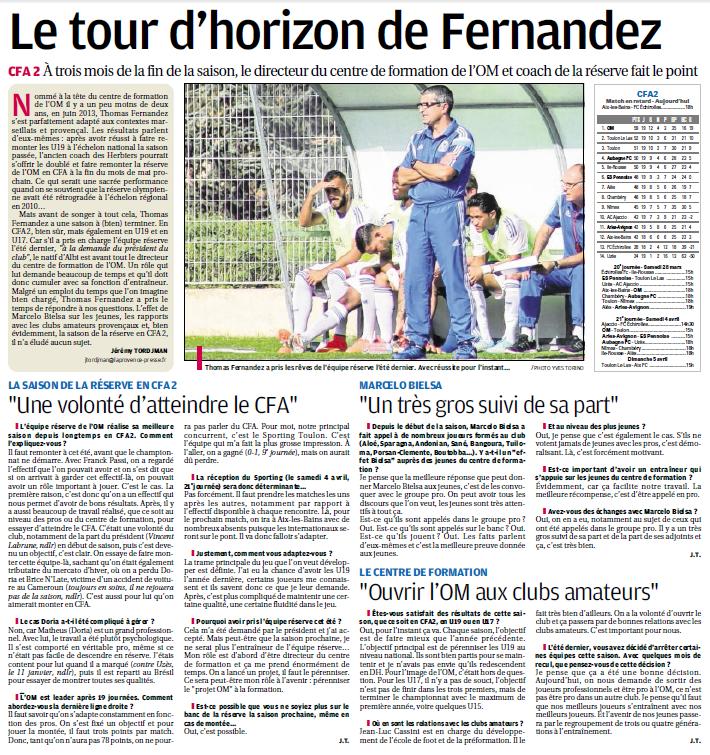 THOMAS FERNANDEZ DIRECTEUR  DU CENTRE DE FORMATION  - Page 2 323005881