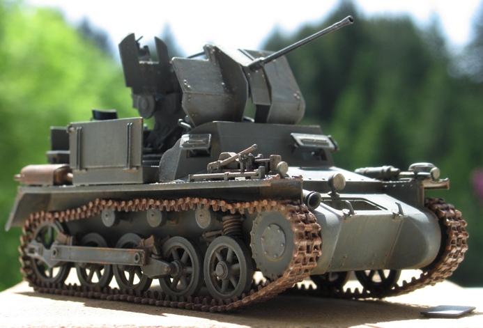 Flakpanzer I Dragon 1/35 323185modles116003