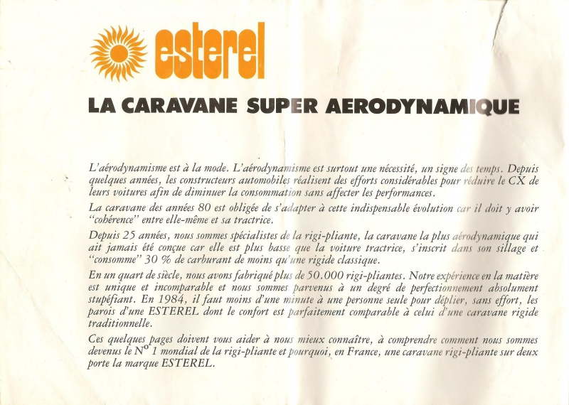 Les Esterel, début 80' 323201Brochure1001