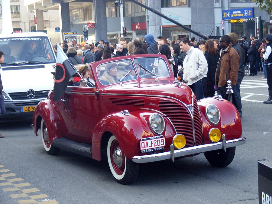 """Bruxelles côté BD  """"Tintin en automobile"""" 324257DSCF6175"""