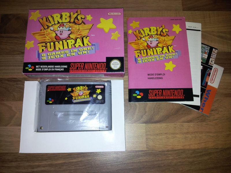 Prupru's Collection ! 100% Super Nintendo et 200% Super Comboy !! - Page 10 324601KirbysFunPack