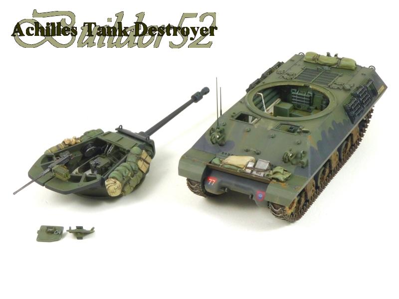 Achilles Tank Destroyer - Academy-Italeri + RB Model + set Blast 1/35 325486P1040525