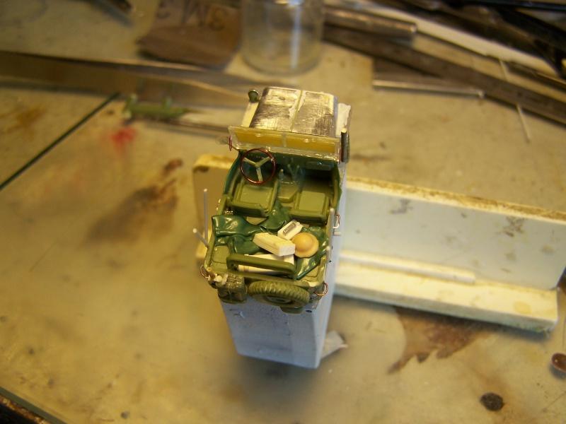 "Bren carrier ""Deep wading"" et Jeep Juno Beach partie 04 3255881007294"