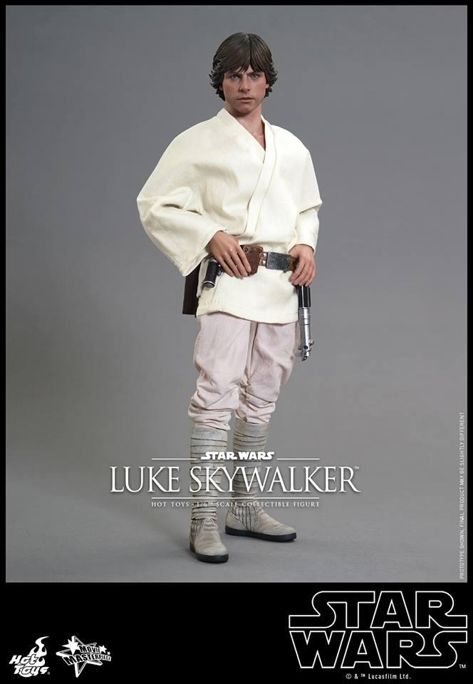 HOT TOYS - Star Wars: Episode IV A New Hope - Luke Skywalker 325760110