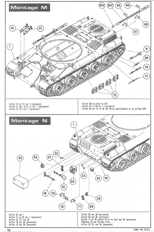 AMX 30 DCA - (Réf. L811) 1/35 326458HellerAMX30DCA811010