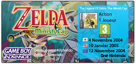 The Legend Of Zelda: The Minish Cap | GBA 327256mc