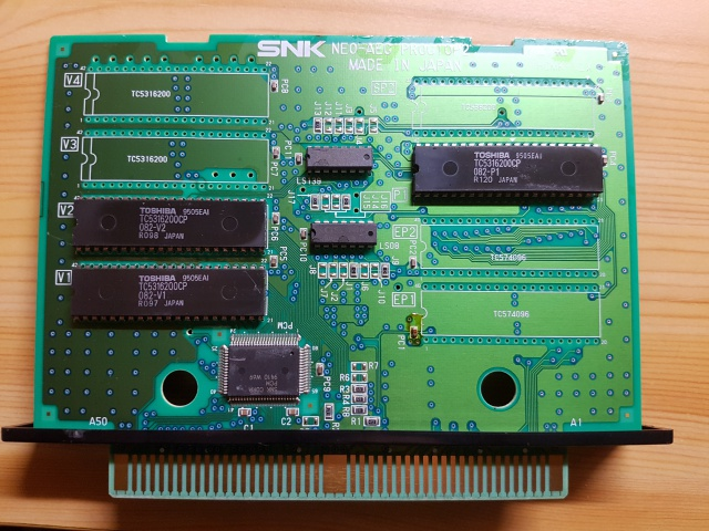 Double Dragon AES : Set étrange de PCBs...? 32928720170929233918