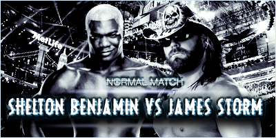#MATCH 4 : SHELTON BENJAMIN VS JAMES STORM 329739WrestlemaniaSheltonvsStorm