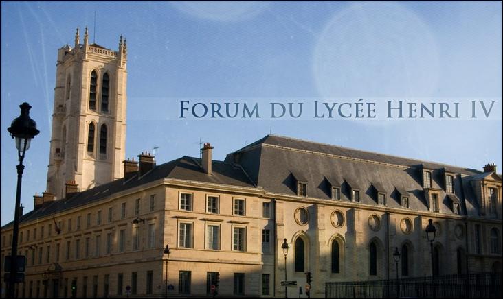 Forum Du Lycée Henri IV