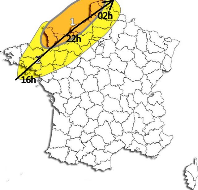 Analyses et prévisions des épisodes météo potentiellement marqués - Année 2016 329823dzddadadzadad