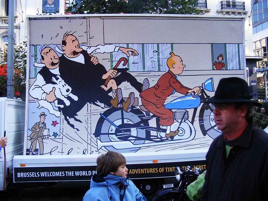 """Bruxelles côté BD  """"Tintin en automobile"""" - Page 2 332786DSCF6291"""