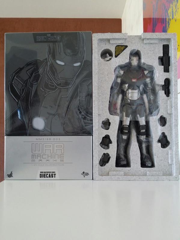 """red360 collec"""": War Machine MKII Diecast Hot Toys 332883201407161536411"""