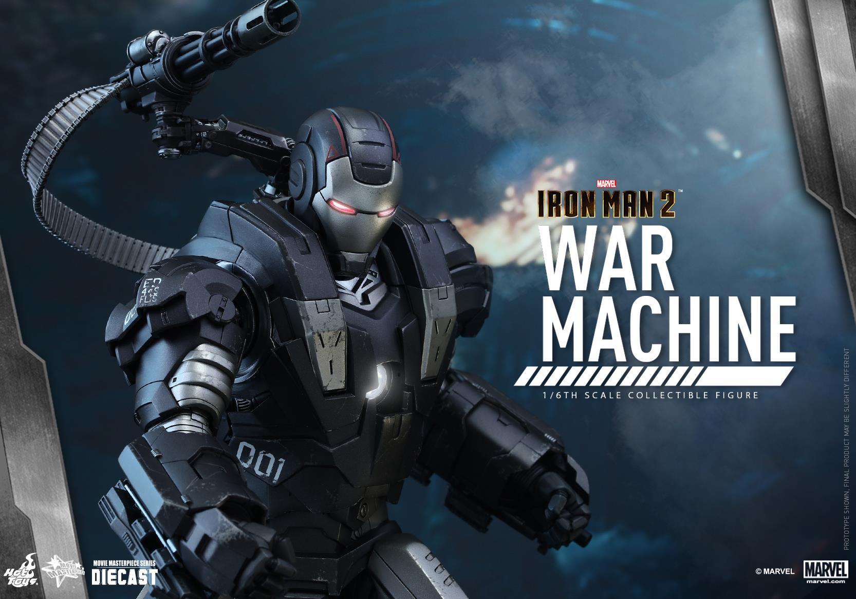 HOT TOYS - Iron Man 2 - War Machine Diecast 333124114