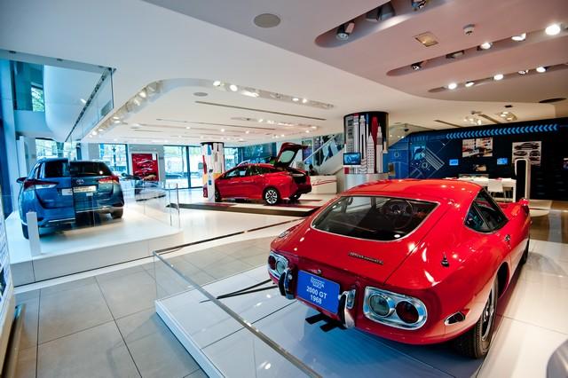 """Le """"Creative Design"""" À L'honneur Au Rendez-Vous Toyota 333184OSO8967"""