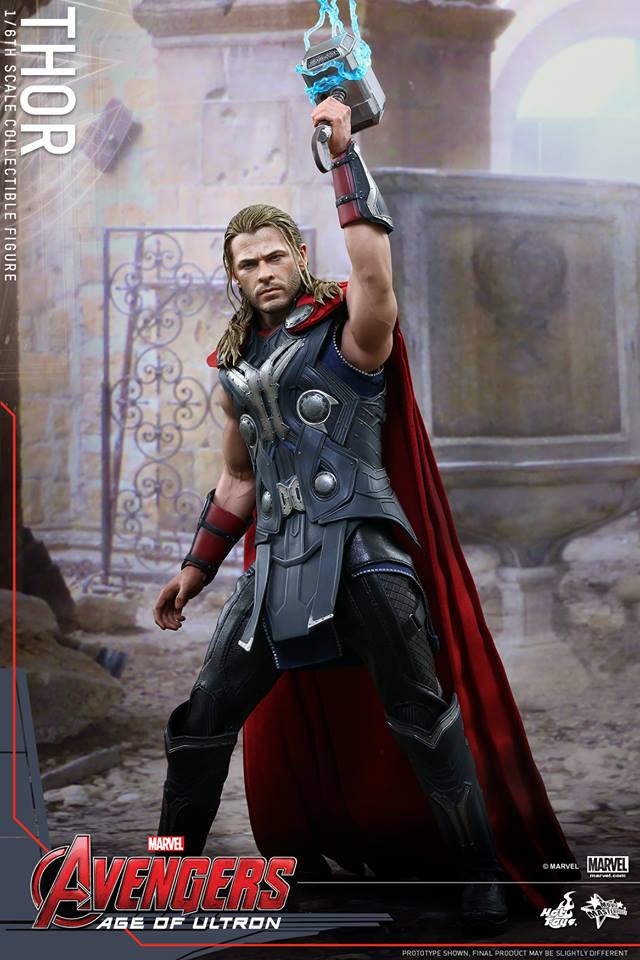 HOT TOYS - Avengers: Age of Ultron - Thor 334557106