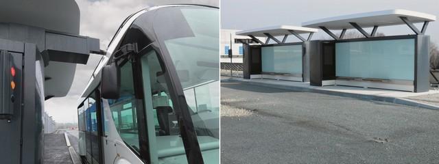 Inauguration de l'usine Bluetram, par le Groupe Bolloré, à Quimper 335302BTHS150106839RECHARGELQFA1