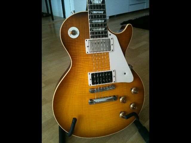 Gibson Les Paul Jimmy Page #2 176/200 336382LPcorpsface