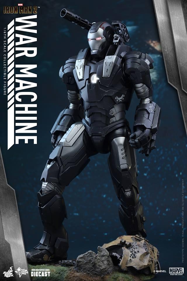 HOT TOYS - Iron Man 2 - War Machine Diecast 336472101