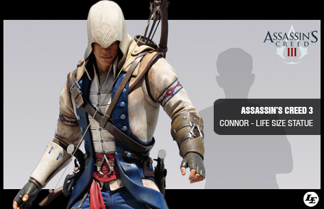 [Attakus] Assassin's Creed 3 Connor - Life Size Statue 337282assc3ls