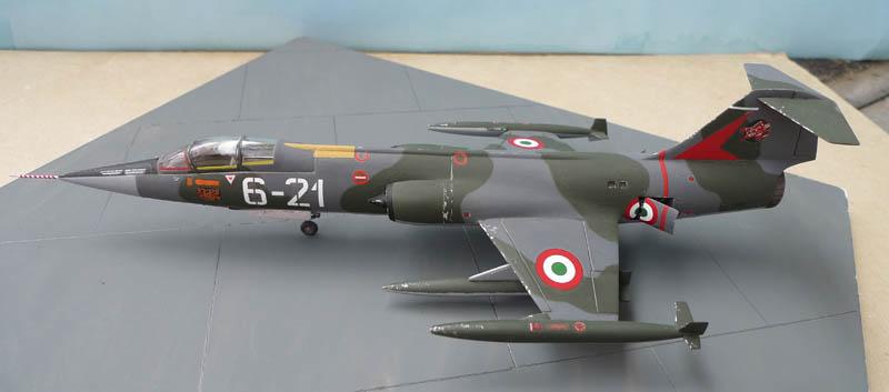 [Heller] - F 104 Starfighter à la sauce italienne. 337284F10402