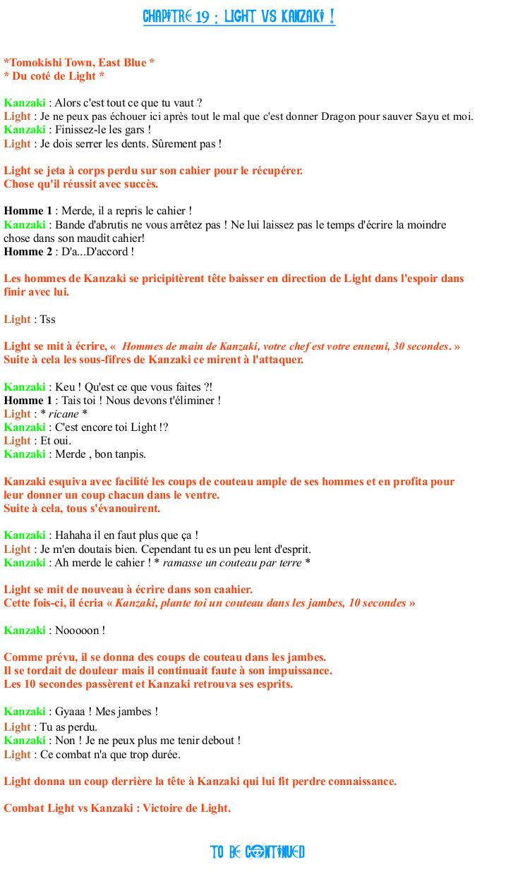 [Fanfiction] All Star Héros 338454Chapitre19
