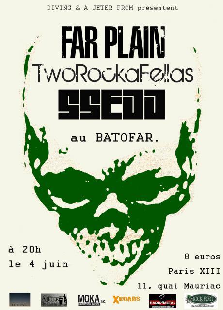 04.06 Far Plain + Two Rocka Fella + SSEDD @ Paris Le Batofar 338586batofar12
