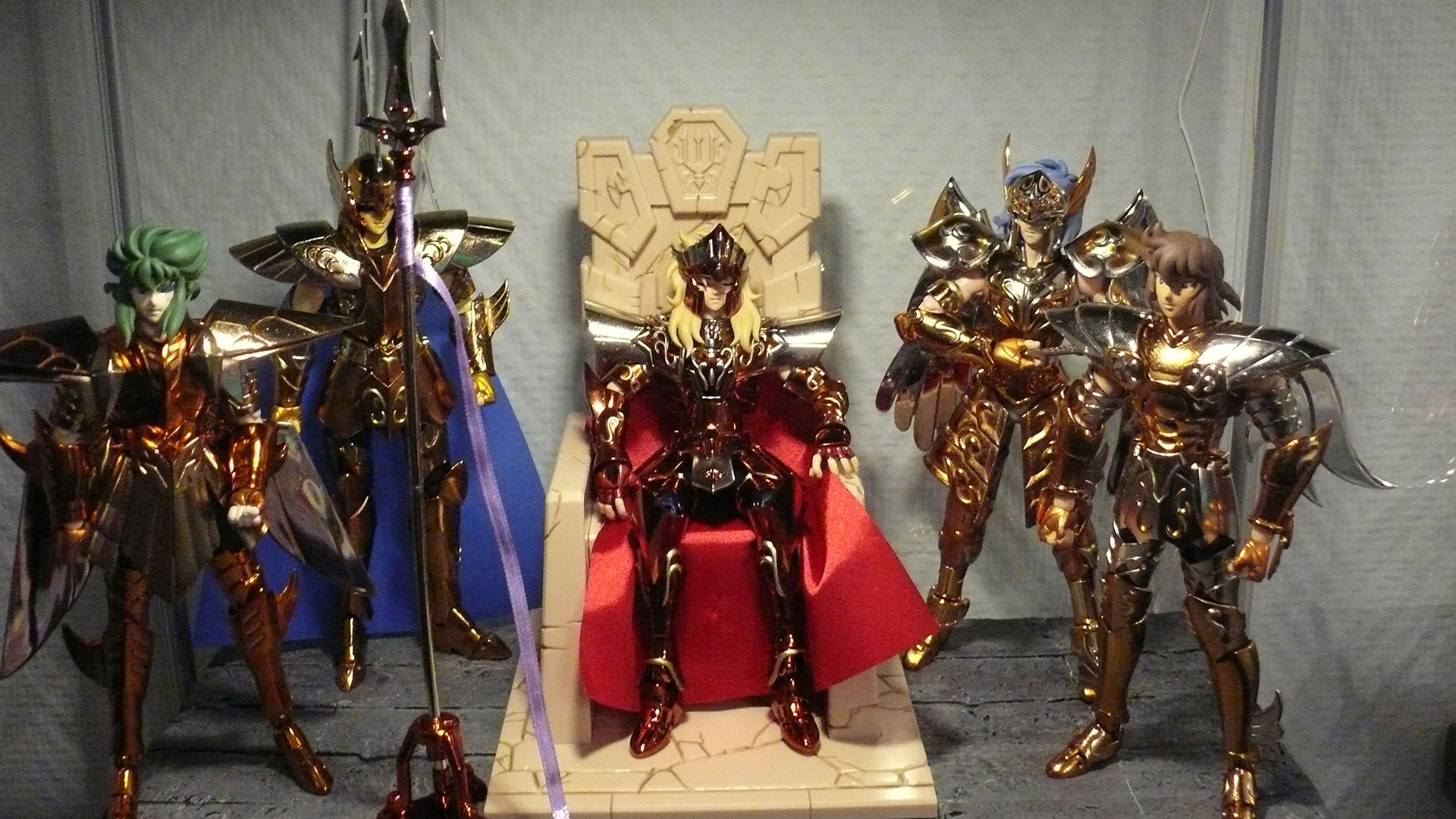 Figurines Saint Seiya (Chevaliers du Zodiaque) 342085POSEIDON1