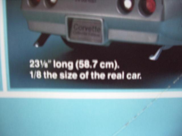 chevrolet corvette 1982 edition collector monogram au 1/8 - Page 2 342160photoscorvettemaquette004