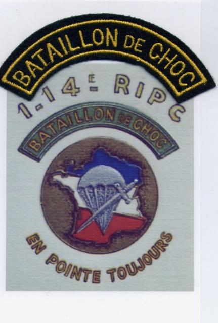14ème Régiment d' Infanterie Parachutiste de Choc 343210114Choc2