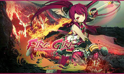 """[Signature Complète] """" Guerrière Pyromane"""" 345077tutofiregirl"""