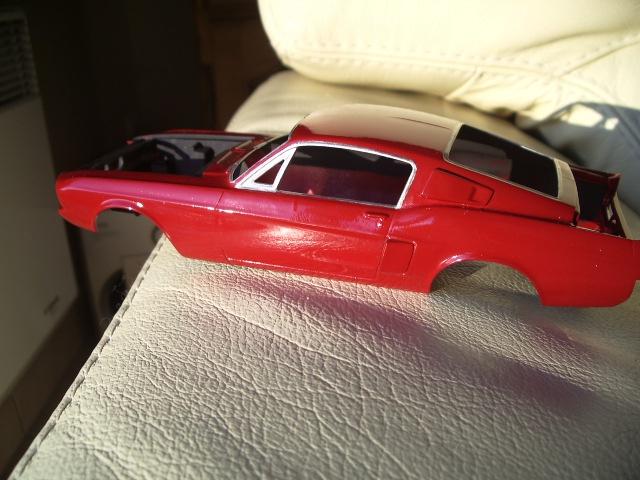 mustang shelby 350 GT 1967  au 1/25 de chez AMT/ERTL  348022IMGP0939