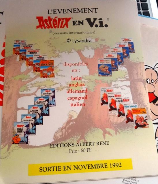 Dossier presse Astérix en langues étrangères 348907DP2