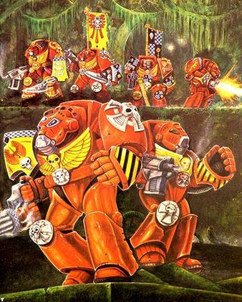 La Volonté de l'Empereur de John Blanche (Art Book) - Page 2 348970terminatorspacemarines