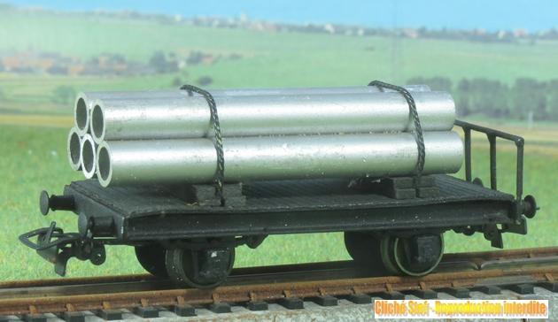 Wagons plats 2 ess maquette et semi maquette chargés par ordre alphabetique 348979VB2esssemimaquettetubesIMG3110