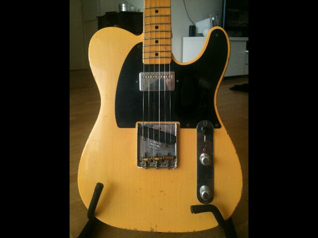 """Fender Custom Shop Telecaster 52 HB Relic """"Time Series"""" 349640Telecorpsface"""