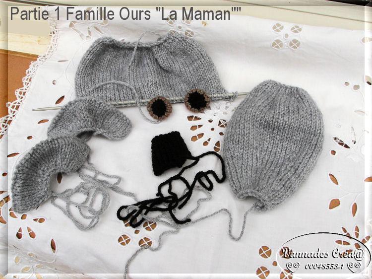 Famille OURS ******* 350020partie1familleoursLaMaman