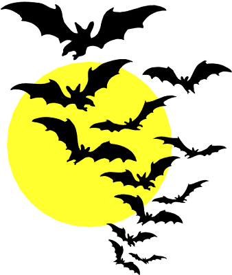 tube halloween 350208s_BATS___MOON_3p