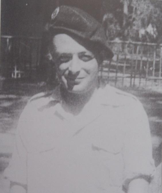 Lieuteant Joseph SINTA 6è BCCP MPLF 1950 350277PA070001