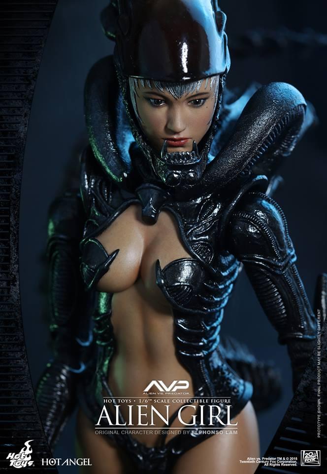 HOT TOYS - AVP - Alien Girl 353371110