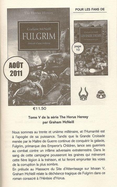 L'Hérésie d'Horus chez Black Library France 354392Fulgrim