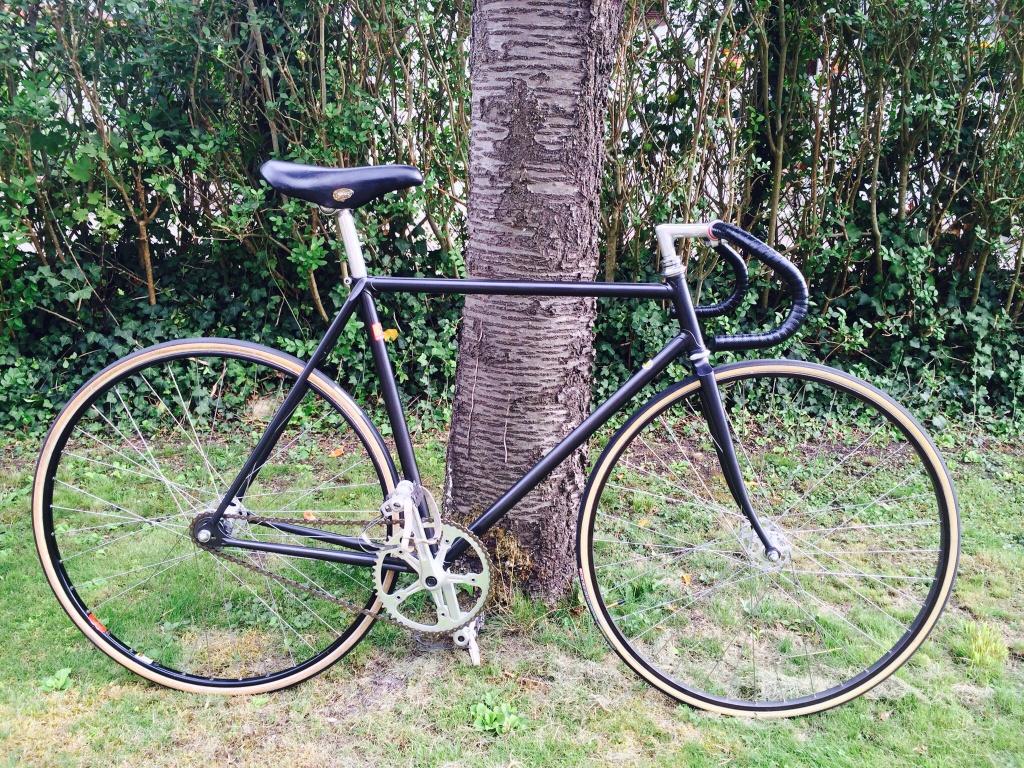 Vélo de piste Jean Marie Brun Tubes Columbus 355246image