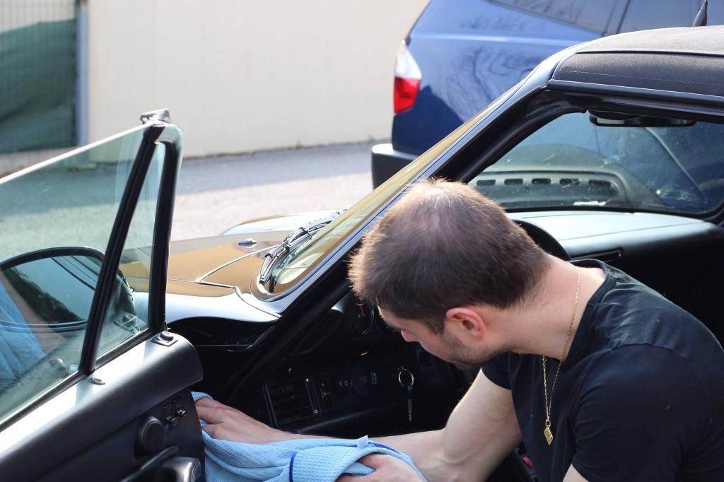 PORSCHE 993 Cabrio - Preparazione interna/esterna 3562380935